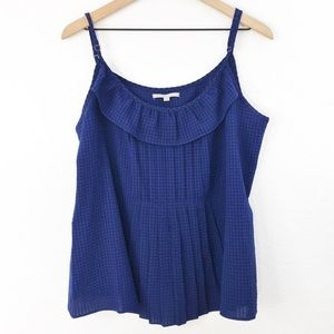 GAP Sleeveless Blue Blouse Size X-Large